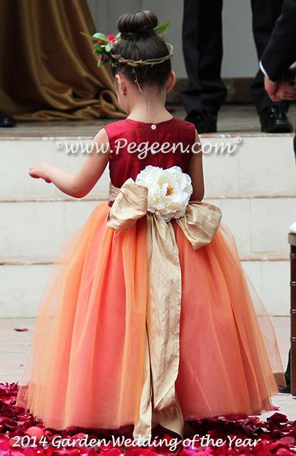 1224c65083c ... 2014 Garden Flower Girl Dresses of the Year ...