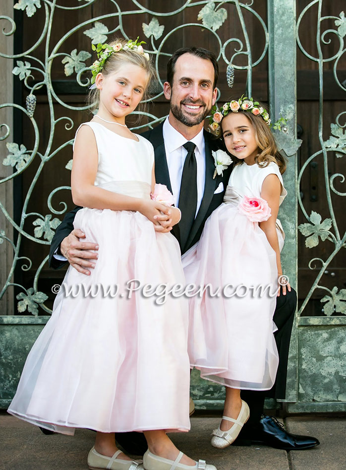 Style 359 Flower Girl Dress from the Pegeen Classic Collection